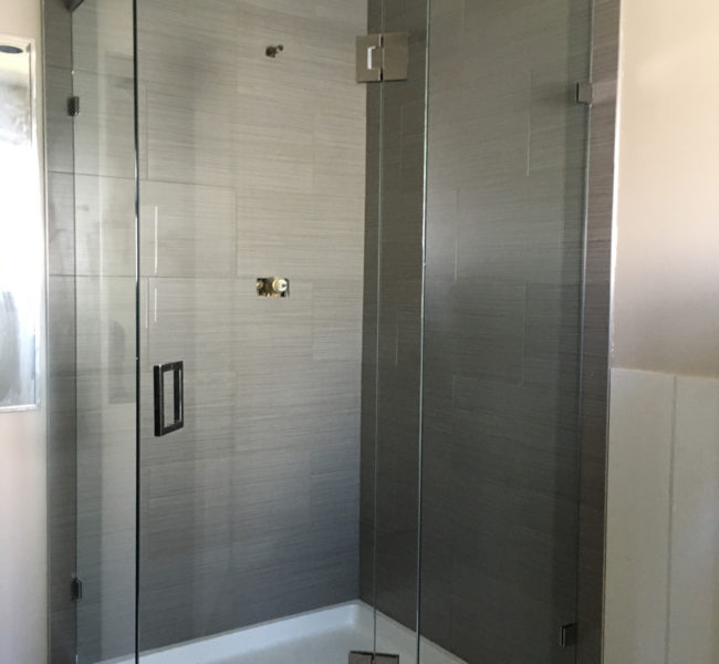 Custom Corner Shower Door