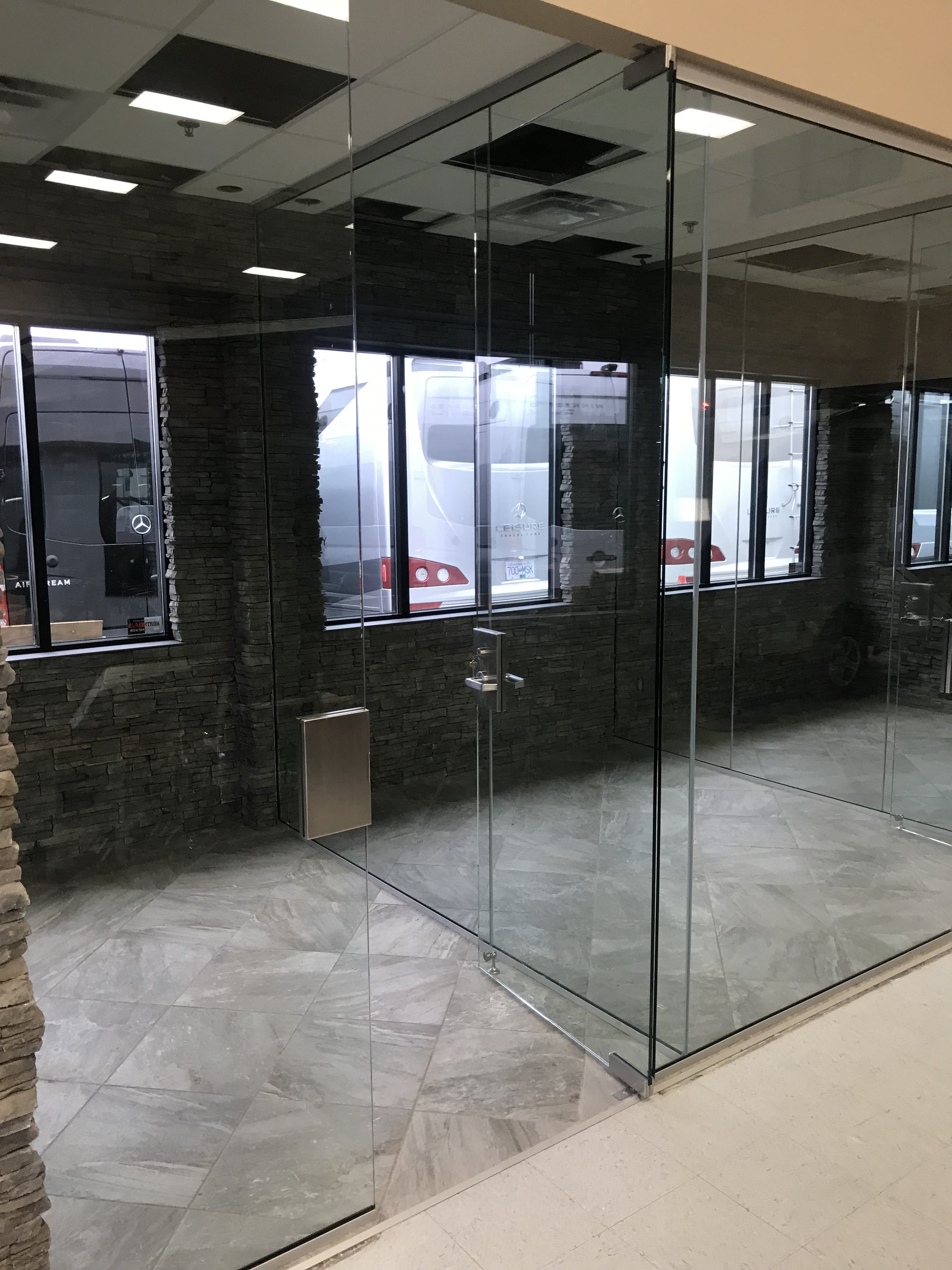 Interior Glass Doors And Partitions