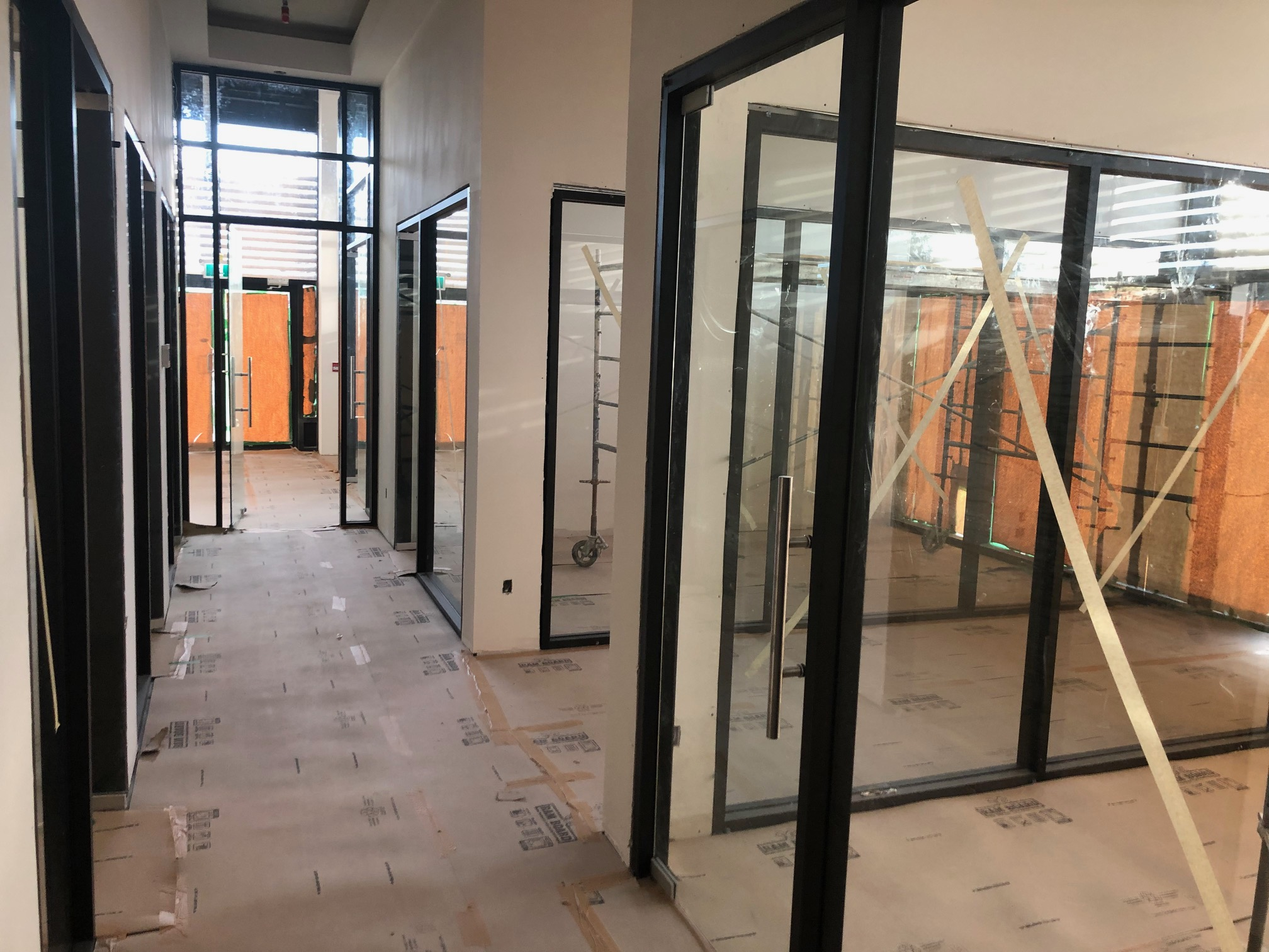 Storefront Windows And Doors abbotsford law office glass doors and walls - valley west glass
